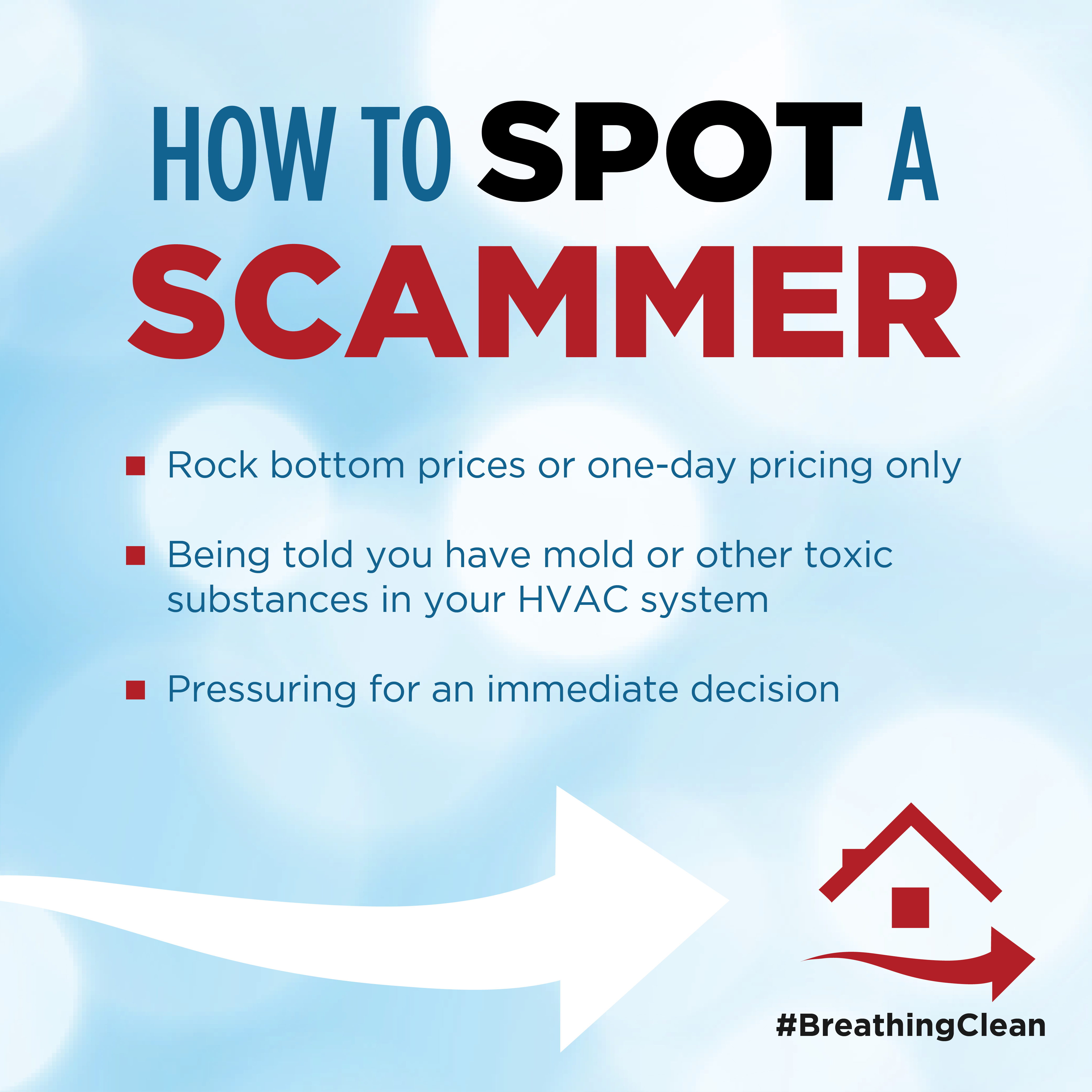 How to spot a scammer