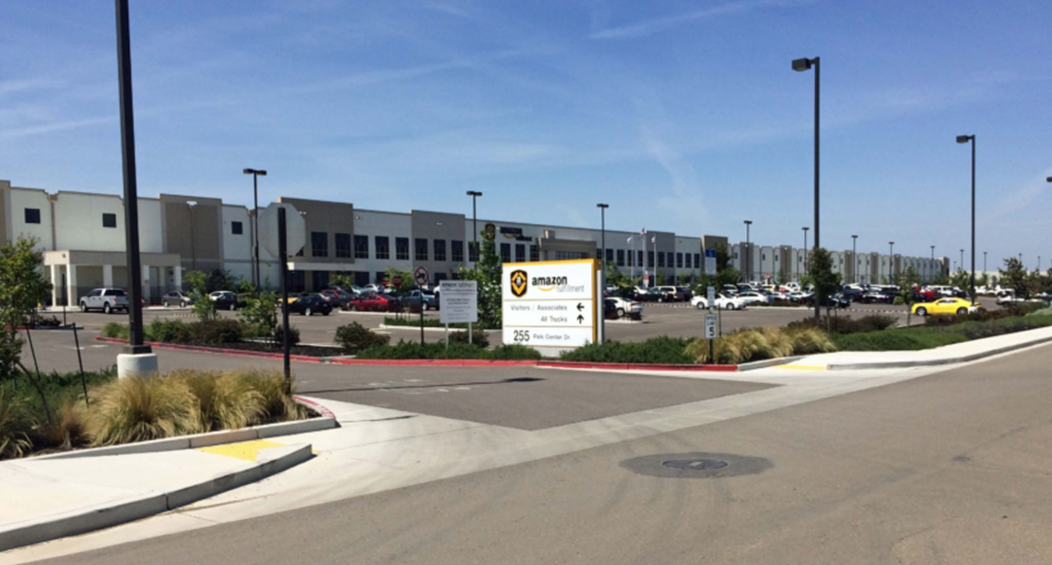 Amazon Fulfillment Center HVAC by RHP Mechanical Systems