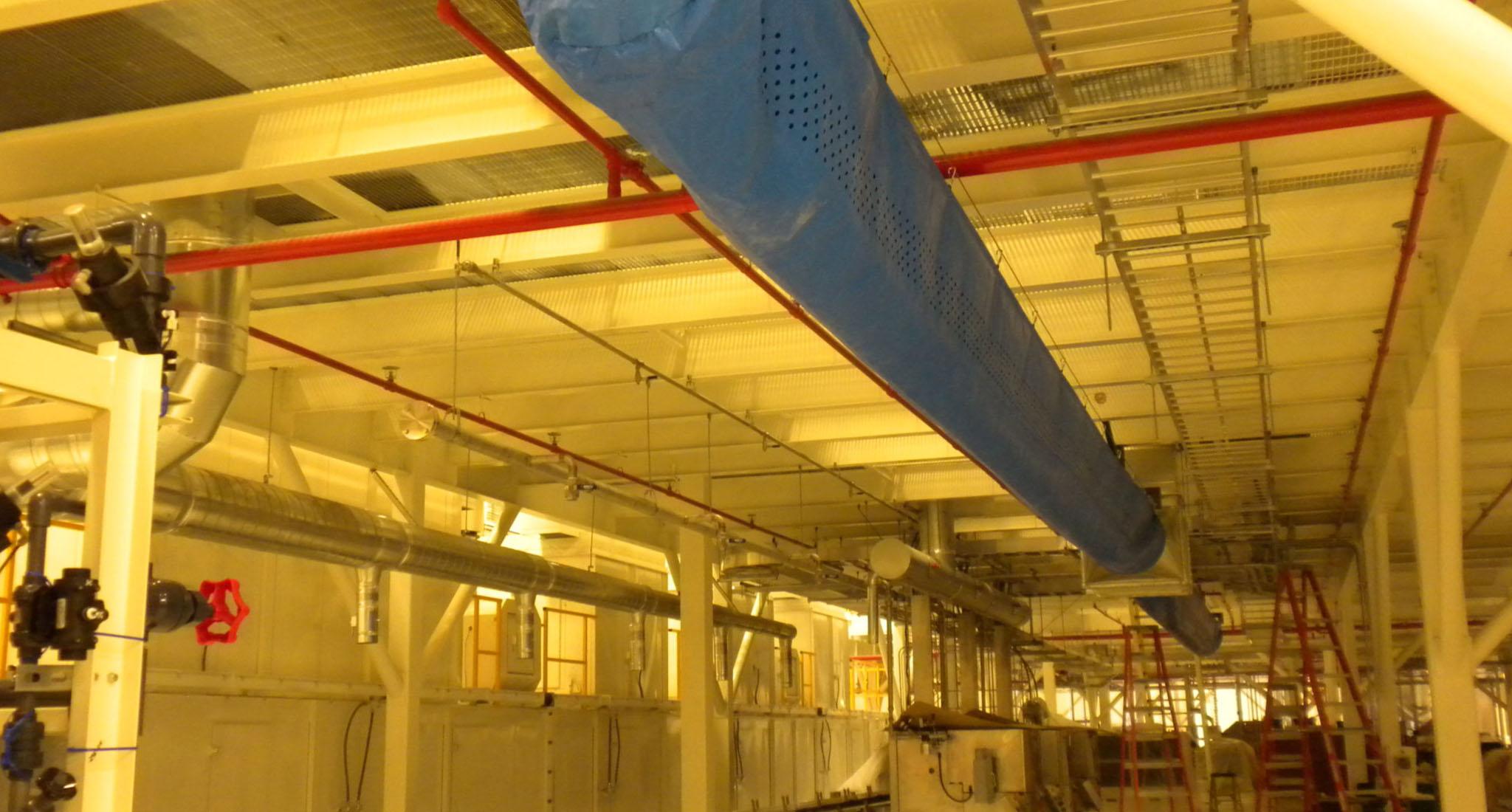 RHP Ardagh Project Inside HVAC